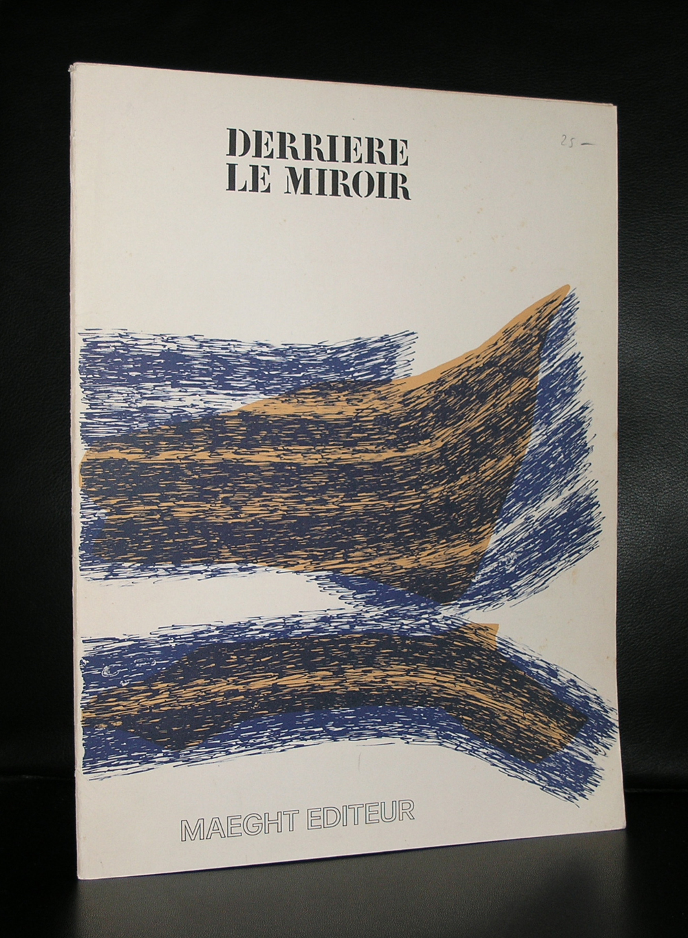 Maeght edition derriere le miroir ftn books for Derriere le miroir