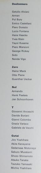 ZERO Stedelijk Museum