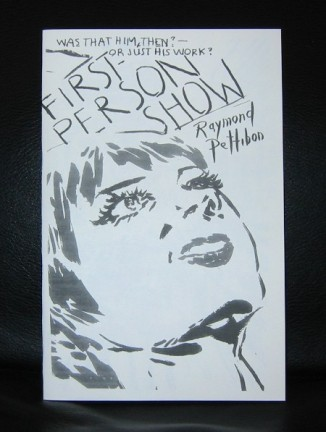 pettibon first person a