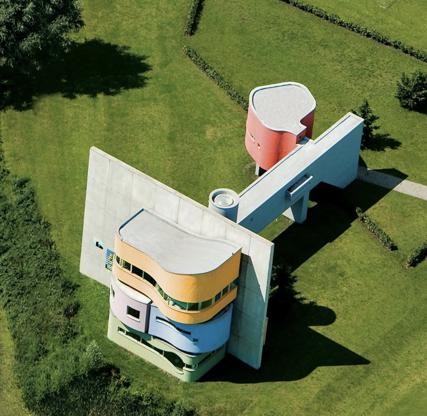 John Hejduk 1929 2000 And The Wall House In Groningen